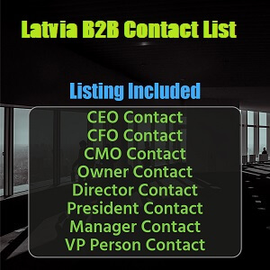 Latvia B2B List