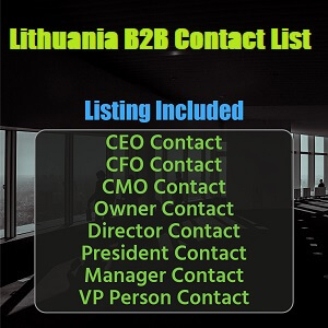 Lithuania B2B List