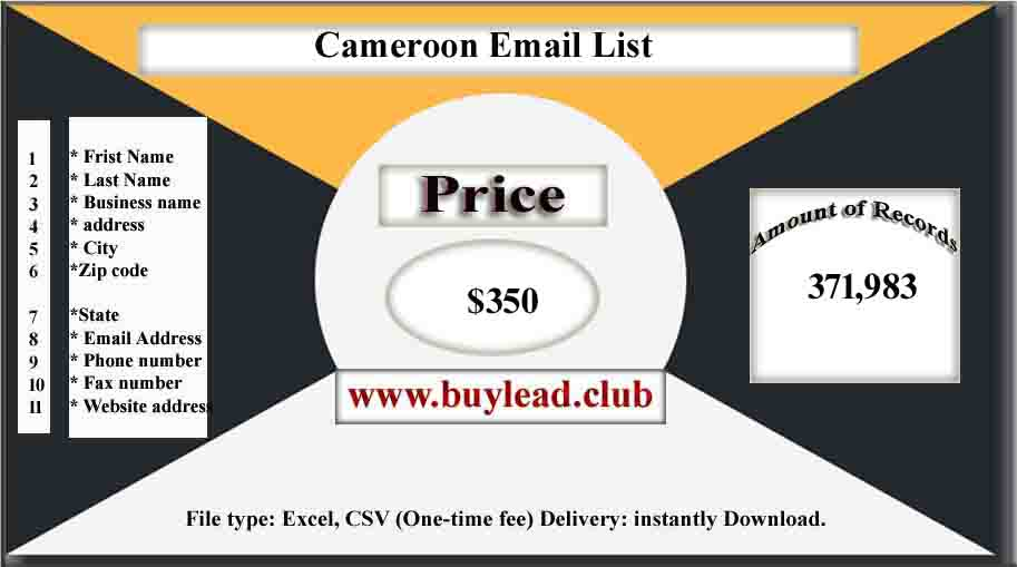Cameroon Email List